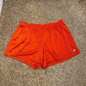 Champion orange  Mesh Athletic Shorts